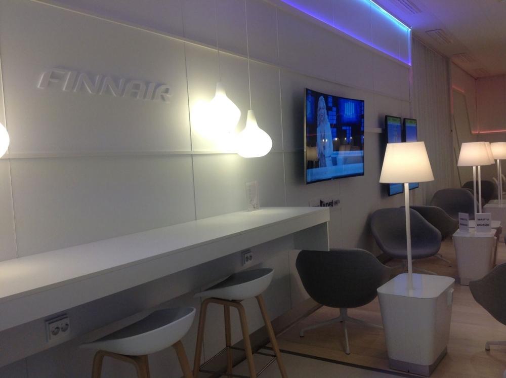 Finnair-Lounget Helsinki-Vantaa lentoasema