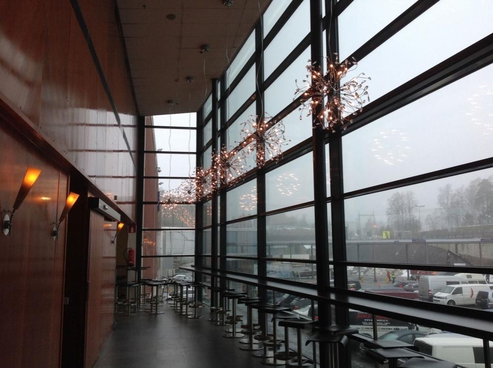 Helsingin messukeskuksen ravintola